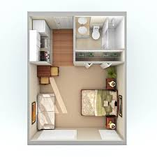 One Bedroom Apartments Mobile Al by Best 25 Studio Apartment Layout Ideas On Pinterest Studio