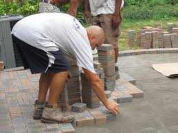 Pavers Over Concrete Patio by Laying Pavers For A Patio Home Design Ideas And Pictures