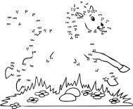 medium level animal dot to dots