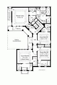one and half story bedroom bath french traditional plan house