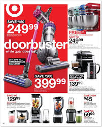 black friday vacuum the target black friday ad for 2015 is out u2014 view all 40 pages