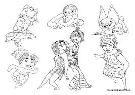 the croods coloring pages getcoloringpages com