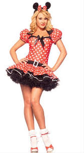 Minnie Mouse Womens Halloween Costume Minnie Mouse Costume Costumelook