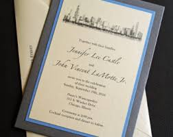 chicago wedding invitations custom handmade wedding stationery and paper by ericksondesign
