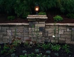 retaining wall lights under cap retaining wall lights new led lights led wall light led corner light