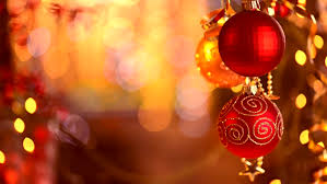 New Year Decoration Shop by Christmas And New Year Decoration Hanging Baubles Close Up