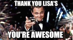 You Are Awesome Meme - thank you lisa s congratulations meme on memegen