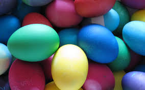 easter eggs wallpapers eggs for easter different color