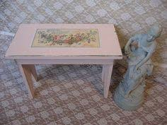 Shabby Chic Footstool by Shabby Chic White Vintage Vanity Seat White Metal Shabby Chic