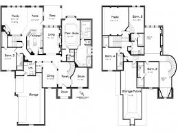 2 5 bedroom house plans gorgeous 5 bedroom 2 house plans arts 2 storey 5 bedroom house