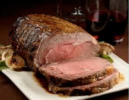 traditional roasted prime rib au jus with pudding recipe