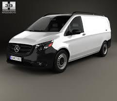 mercedes minivan mercedes benz metris panel van 2014 3d model hum3d