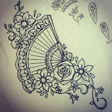 oltre 25 fantastiche idee su tatuaggio con ventaglio su pinterest