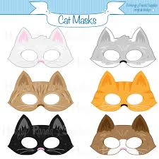 cats printable masks cat mask kitten mask kitty mask