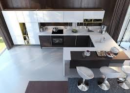 cuisine avec bar table la cuisine en u avec bar voyez les dernières tendances kitchens