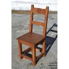 chaise en bois chaise bois sans sculpture