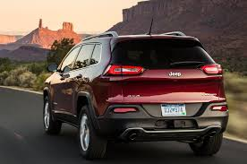 jeep cherokee back jeep grand cherokee trackhawk powered by hellcat engine