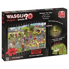 halloween jigsaw puzzle jumbo games wasgij mystery junior two halloween jigsaw puzzle 100