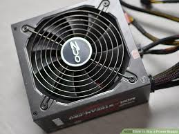 computer power supply fan how to buy a power supply 7 steps with pictures wikihow