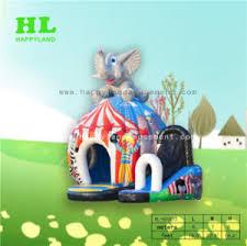 chambre cirque thème du cirque combo gonflable chambre avec 3d éléphant thème du