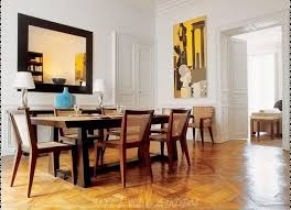 ideas for dining room walls dining room unique dining room ideas with mirrored furniture and