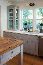 Light Kitchen Light Gray Painted Ceiling Design Ideas