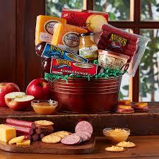 Sausage Gift Basket Nueske Party Pail Assorted Smoked Meats Nueske U0027s