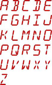 buchstaben design kostenlose vektorgrafik alphabet buchstaben schriften