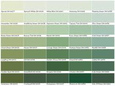 lowes sage green color chart valspar lowes american tradition