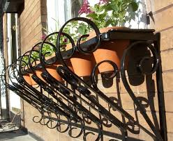 captivating outdoor wall planters wrought iron 86 on modern house