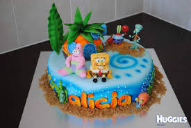 spongebob cake ideas spongebob cake huggies birthday cake gallery huggies