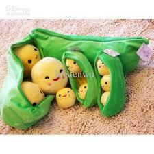 3 peas in a pod new plush figure bean bag 3 peas in a pod stuffed plush toys