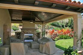 Outdoor Patio Cover Designs Ideas Simple Covered Patio Furniture Budget Dma Homes 25048