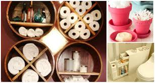 creative diy small bathroom storage ideas diy cozy home
