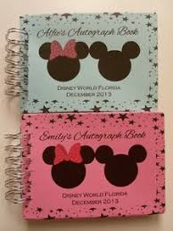 personalized autograph books personalised disney autograph book scrapbook memory book a5