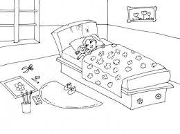 coloriage de chambre de fille dessin de chambre solutions pour la décoration intérieure de votre