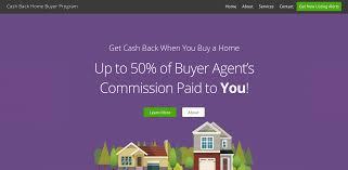 cash back home buyer program gilded agency