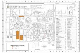 campus maps the university of southern mississippi