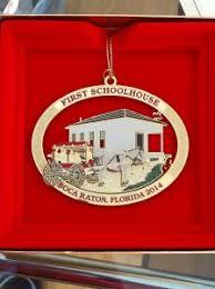 boca raton garden club commemorative ornaments boca raton news