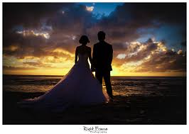 Oahu Photographers Www Rightframe Net Beautiful Destination Sunset Beach Wedding In