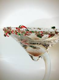 martini peppermint skinny cocktails sugar free simply syrup and a truvia giveaway