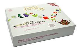 tea shop organic tea collection pack of 48 tea bags