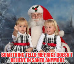 Paige Meme - image tagged in memes christmas merry christmas twins on santas