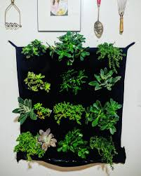 pocket indoor waterproof vertical living wall planter