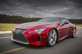 lexus sports car list lexus checks its ny debuts list with lc 500 range