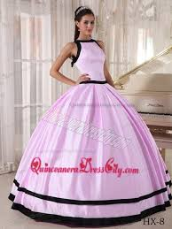 quinceanera pink dresses gown bateau floor length satin quinceanera dress in baby pink