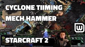Starcraft 2 Meme - starcraft 2 terran cyclone pressure into mech hammer youtube