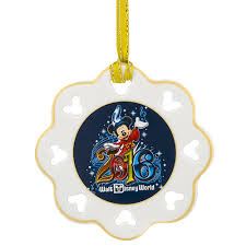 your wdw store disney disc ornament 2016 mickey mouse walt