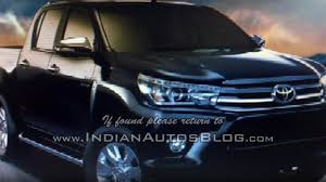 toyota makes 2016 toyota hilux revo makes a comeback in fully revealing images