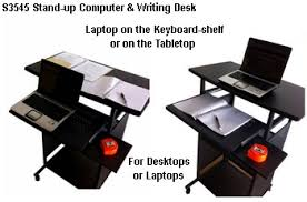 Stand Up Computer Desk by S3545 35